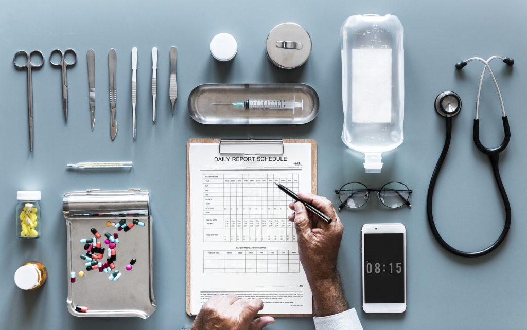 Gadżety dla medycyny